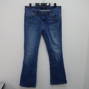 Womens Levi's Super Low Boot Cut Jeans Size 13